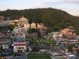 Song-Do neighbourhood in the evening