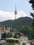 View on Namsan Hill and the Seoul Tower from Banporo