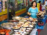 Namdaemun Market cooking