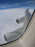 Noon view from Boeing 747