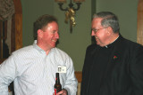Kevin Ford with Msgr. Finn