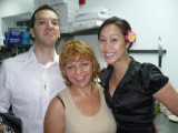 Vaso w/ her son & daughter-in-law