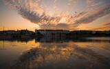 Lake Peblinge Sunset Cloudscape