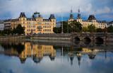 Søtorvet & Queen Louise Bridge reflection