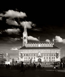 City Hall in glorius black and white