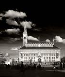 City Hall in glorius black and white
