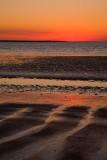 Mindil Beach sunset abstract