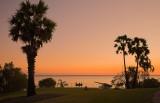 Sunset in Bicentennial Park Darwin