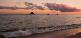 Dunk Island purple sunrise