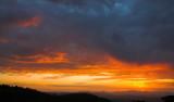 Mountain sunset cloudscape 4