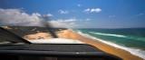 Landing on 75 mile beach