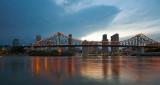 Brisbane & Story Bridge - thunderstorm 1