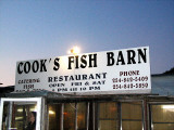 Cook's Fish Barn near Rising Star, Texas