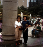Vickie and Bessie in Hong Kong