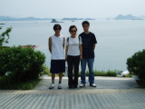 Extremely Hot Day at  Thousand Islands Hangzhou China