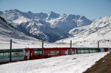 The world famous Glacier Express