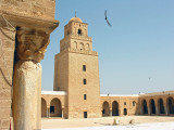 The great mosque in Kairouan