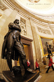 Thomas Jefferson inside the Capitol Rotunda