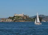 Sailing by Alcatraz