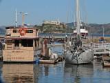 Boats and Alcatraz