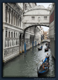 Ponte dei Sospiri with Gondolas