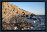 Coastline at Cap Bear near Port-Vendres