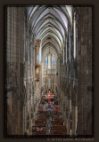 Central aisle of Cologne Cathedral