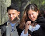 Happy Renaissance Couple