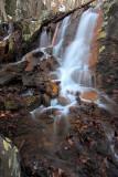 Snow Waterfall