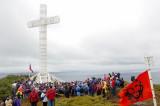 Schoenstatt en la Cruz de Froward, Punta Arenas, Chile, 24 de marzo de 2007