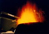 Mirage Volcano in 1997