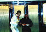 Elvis and Darth Maul