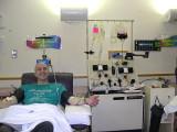 Josh Donating Granulocytes