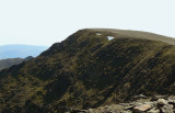 Helvellyn - the crowds approaching the summit