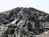 Swirral edge and the competion at the top