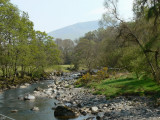 River Granta between Keswick and Threlkeld - the old railway line forms a highly recommended cycle route