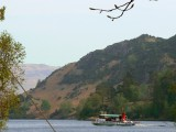 Ullswater Steamer leaving Glenridding