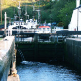 the exit lock to the sea at Crinan