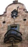 Casa Calvet - balcony and gable