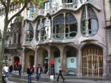 Casa Batlo - unfortunately impossible to get whole facade in one without comitting suicide