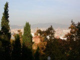 city from Mont Juic