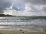 Huisinis on west coast of North Harris looking to Tharansaigh