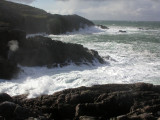Sea trying to do a bit of erosion, Rubha Ruadh