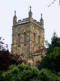 tower of Great Malvern Priory