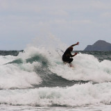 surfing at St Agnes