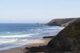 from Cliff path west of Porthtowan