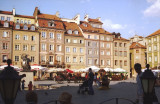 The rebuilt Rynek Starego Miasta