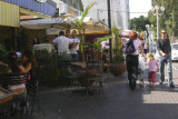 street cafe in Nahariyya