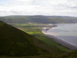 Porlock bay from Hurlstone point