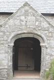 16th Century porch to the Church at Church Cove